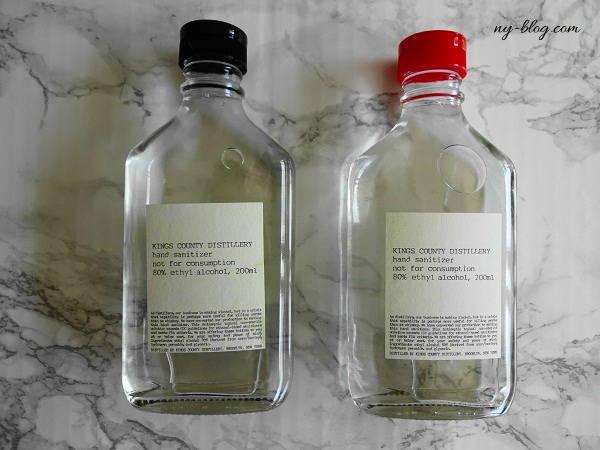 【ニューヨーク】ウィスキー蒸留所が造るハンドサニタイザー(アルコール消毒液)