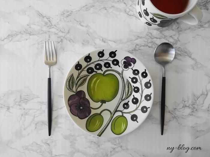クチポールゴアのデザートフォークとスプーン