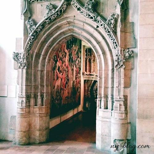 クロイスターズ美術館の教会