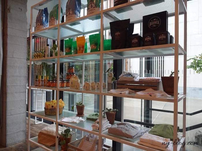 ワンホテルブルックリン ブリッジのカフェ