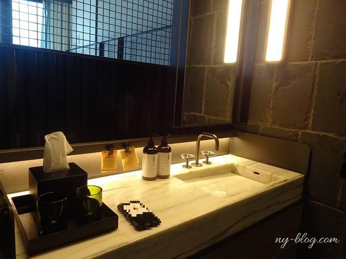 ワンホテルブルックリンブリッジの洗面所