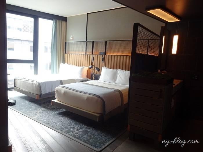ワンホテルブルックリン ブリッジの客室