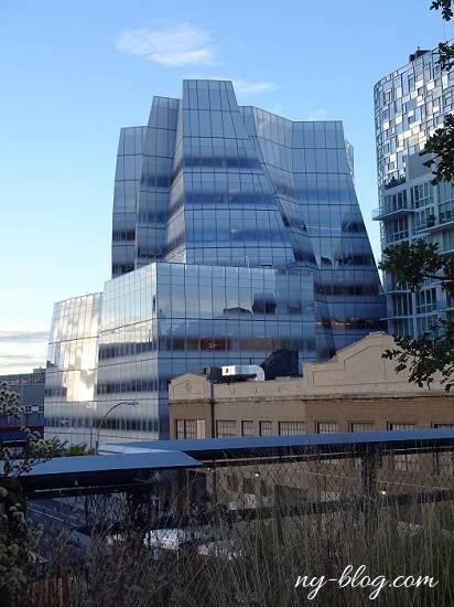 ハイラインから見える建築