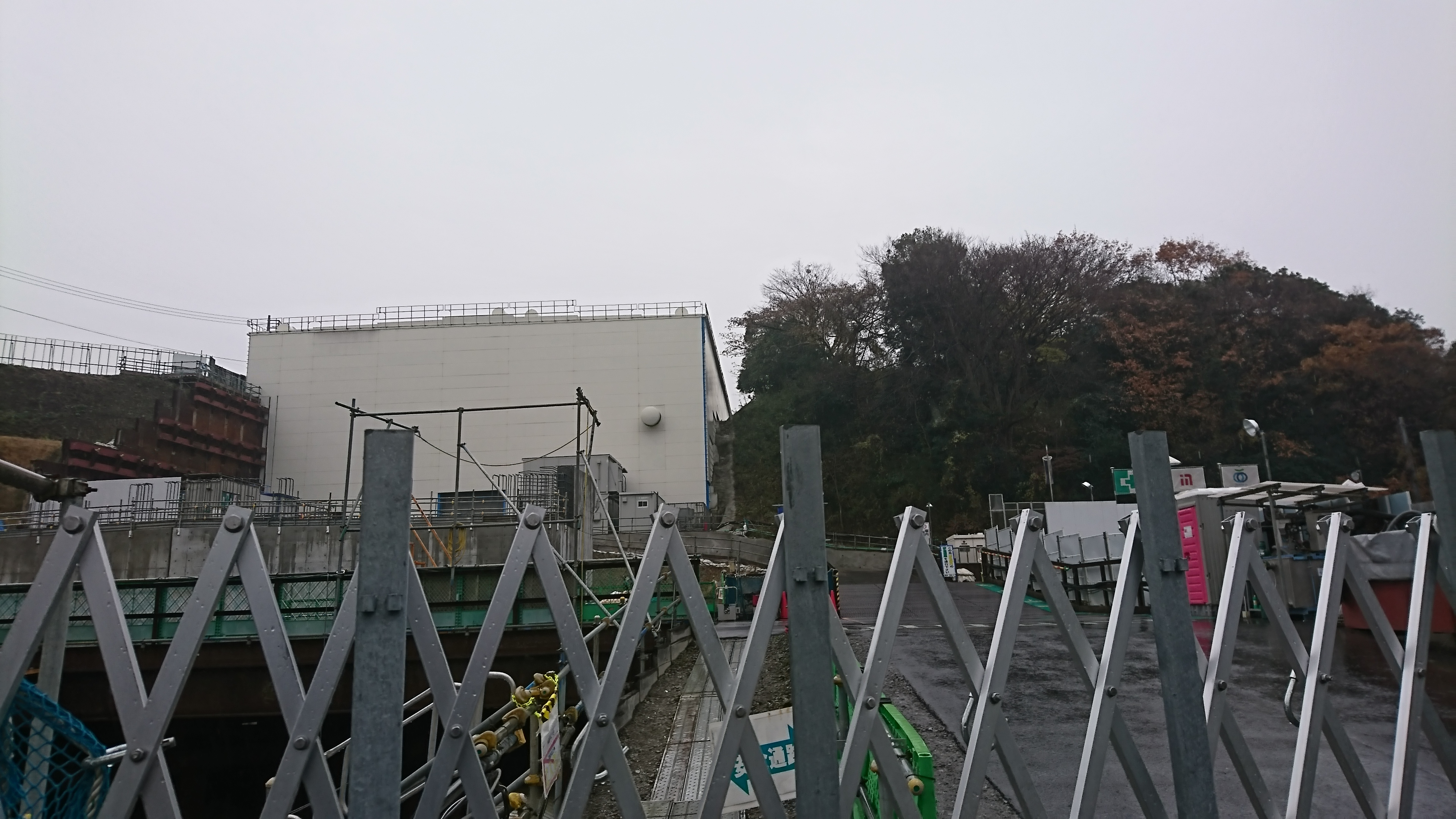 横浜環状南線 工事