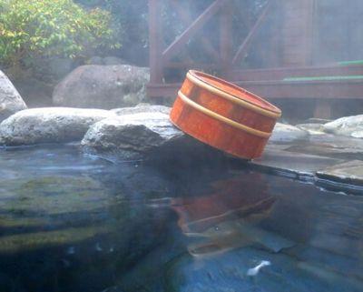 温泉の露天風呂