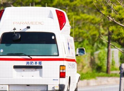 救急車で運ばれる途中