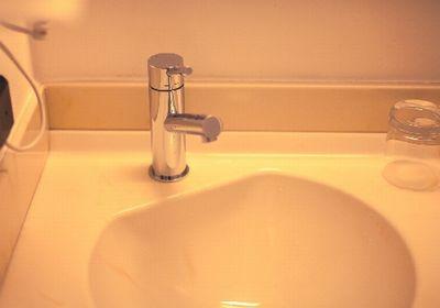 つわりのたびに使う洗面台