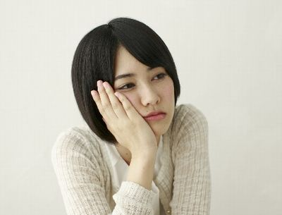 憂鬱な妊婦さん