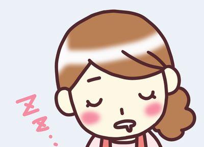 無痛分娩に緊張感0で居眠りw