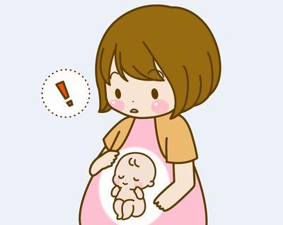 お腹の赤ちゃんを真もつ妊婦さんの身体