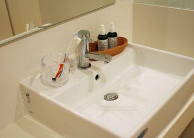 わたしの中でつわりと言えば洗面台です