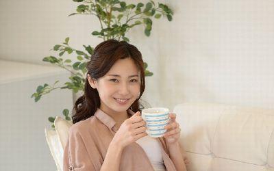 お茶を飲んでリラックス