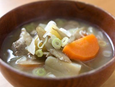 豚汁(野菜多め)