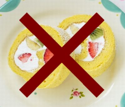 バナナケーキはおすすめできません