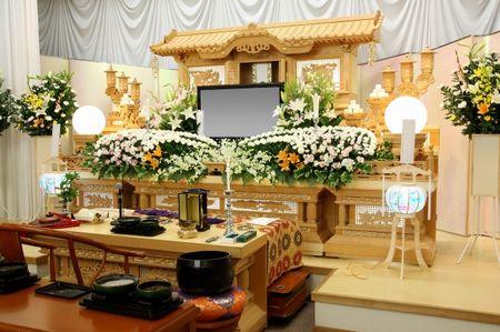 お葬式の写真