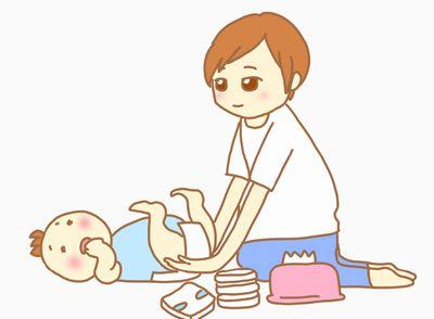 便秘の赤ちゃんとママ