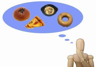 お腹が減って食べ物が欲しくなる