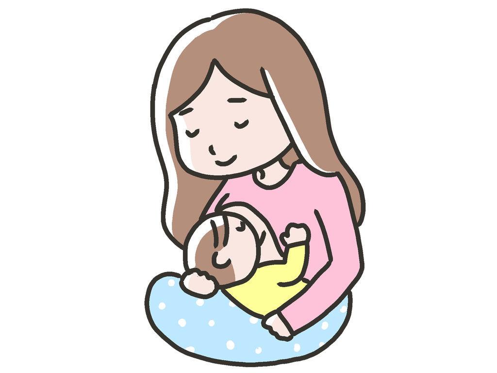 授乳中のママさん