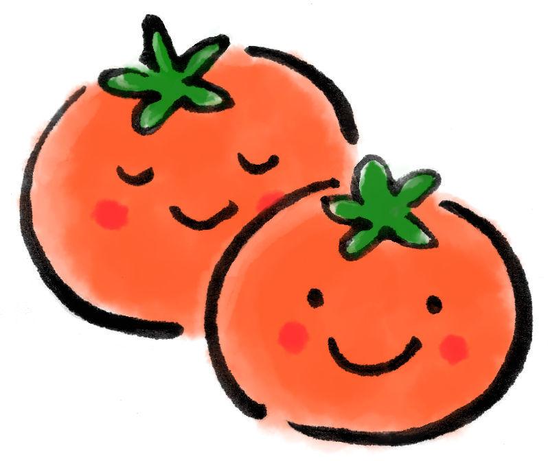 おいしそうなトマト