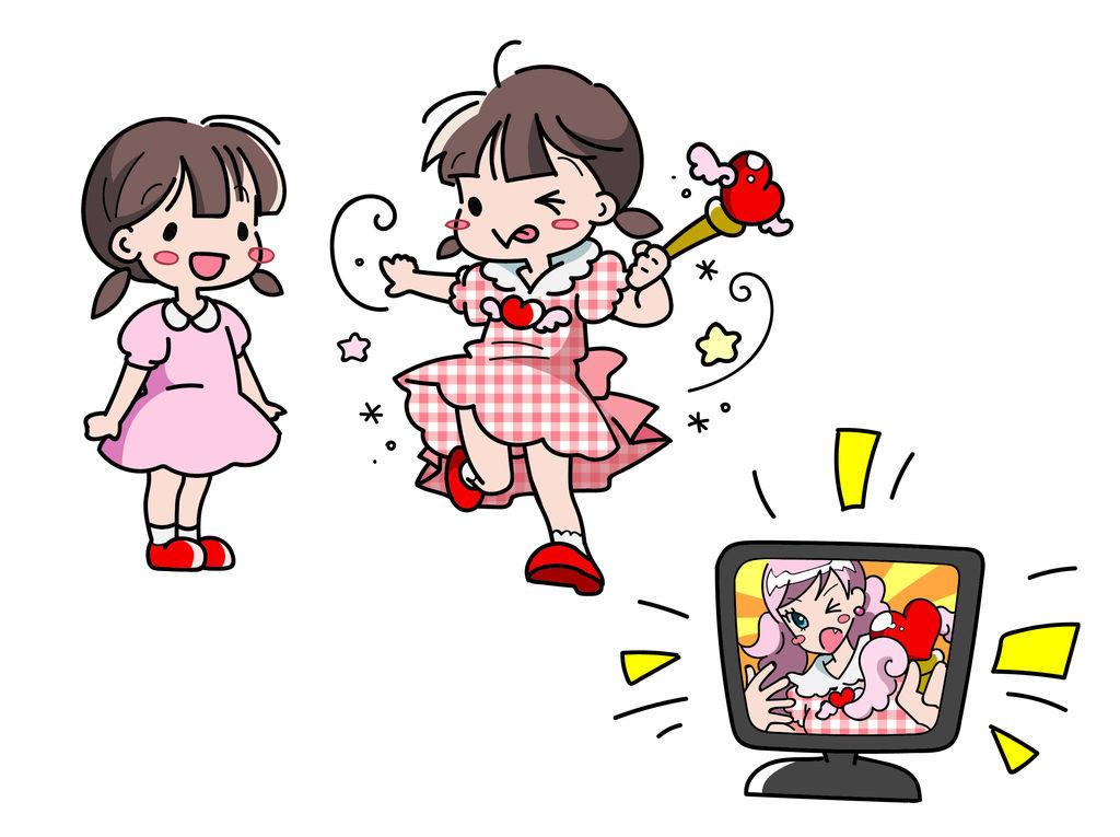 子供にテレビの影響