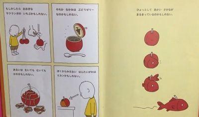 りんごではないかもしれないと疑ってみる