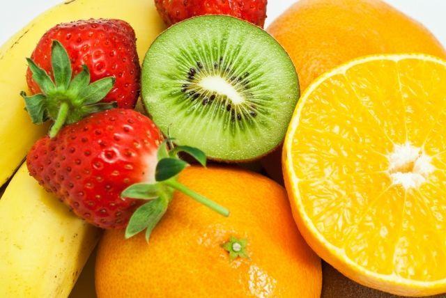 いろんな種類の果物