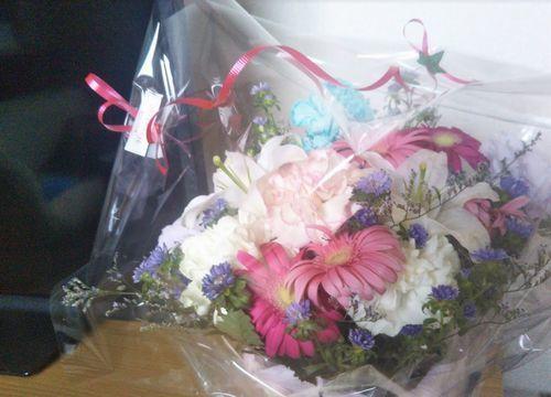 プレゼントしてもらった花