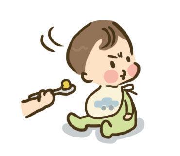 赤ちゃんの食事に悩むママ