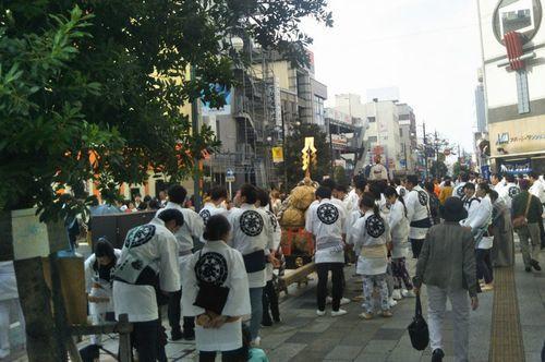 熊谷駅前のイベント