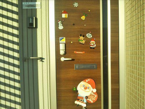 クリスマス仕様の玄関クリスマスその2