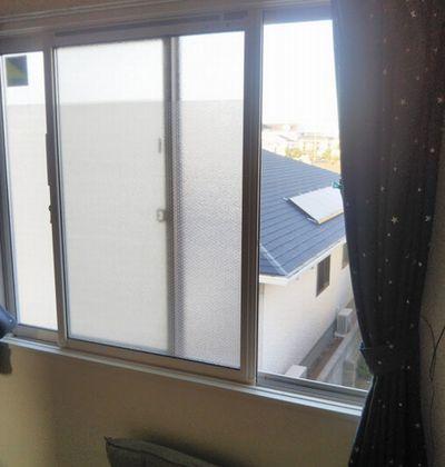 寒さ予防に窓に張るタイプのプチプチ