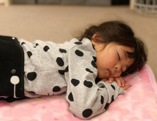 子供が安心して寝れること