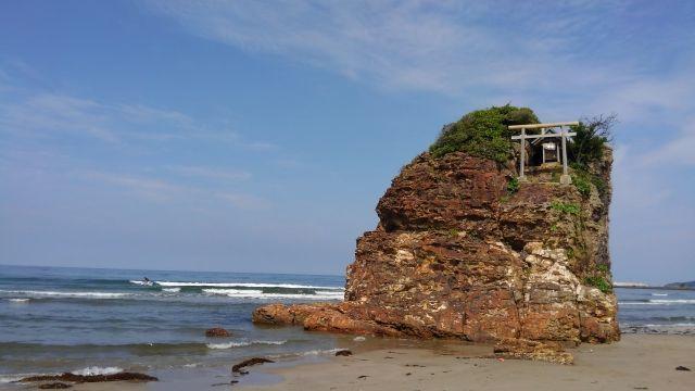 島根県の稲佐の浜