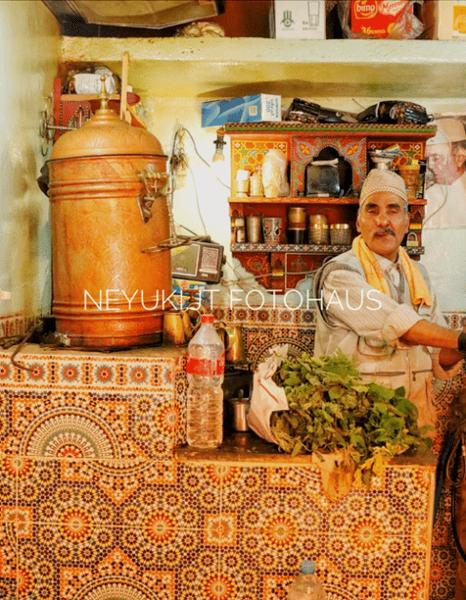 モロッコのフェズのカフェ