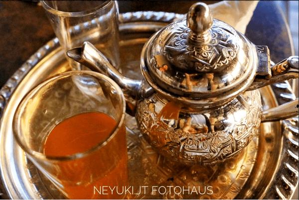 モロッコのミントティー