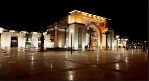 モロッコのフェズの電車駅