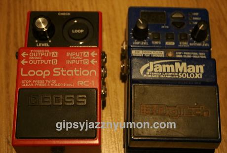 ルーパー・boss RC-1とジャマンdigitech