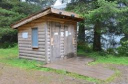 ドイツのガーデンハウスのトイレの例