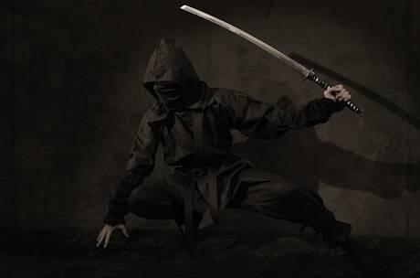 忍者の写真・ステルスマーケティング
