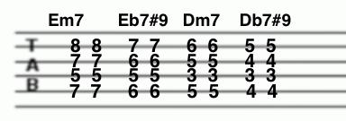 all of meイントロコード・タブ譜