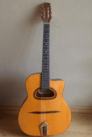 ジプシージャズギターDホール