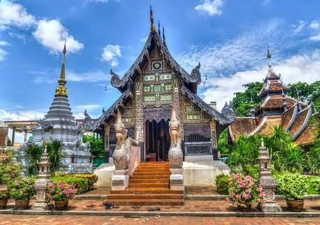 タイのチャンマイの寺院