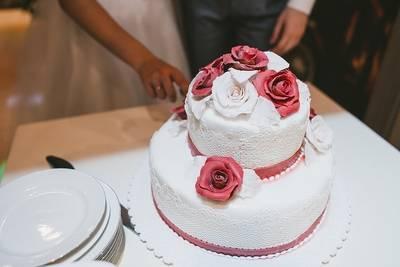 ドイツの結婚式・ケーキ入刀