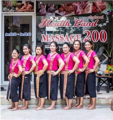 タイのマッサージ店