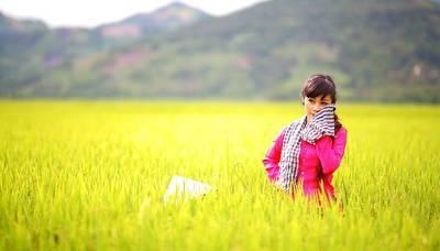 土地を手に入れたタイ人女性