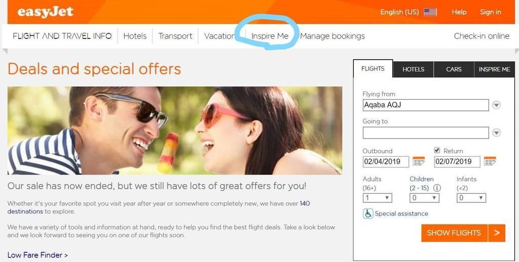 easyjet promotion/discount tickets/イージージェットの割引チケット
