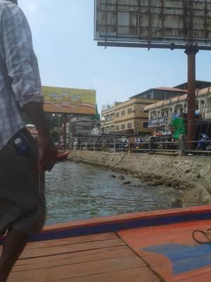 ミャンマーのビザランの港