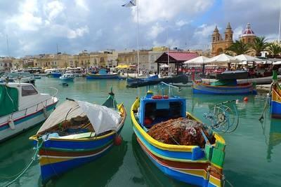 マルタ共和国の港