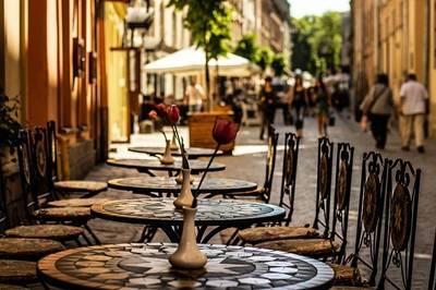 ウクライナの街並み