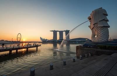 シンガポール、マーライオン